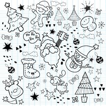 Merry christmas! happy christmas companions. santa claus, snowman