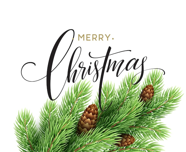 Merry christmas and happy new year 2017 greeting card, vector illustration eps10