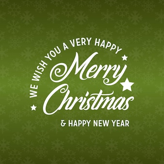 Merry christmas and happy new year 2019 green background