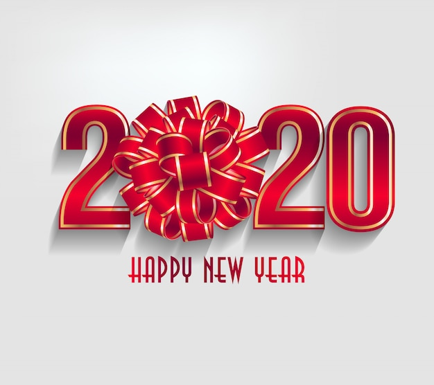 Merry christmas and happy new year 2020 year of the rat