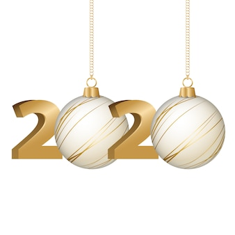 Merry christmas and happy new year, 2020