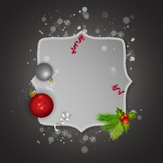 Merry christmas and happy new year 2022 greeting card
