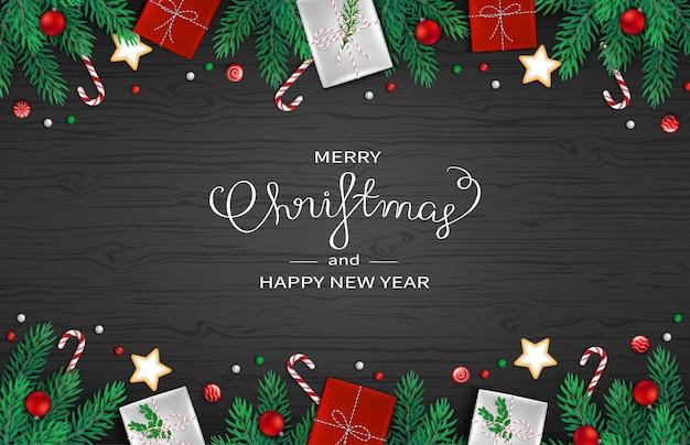 メリークリスマス明けましておめでとうございますweb背景