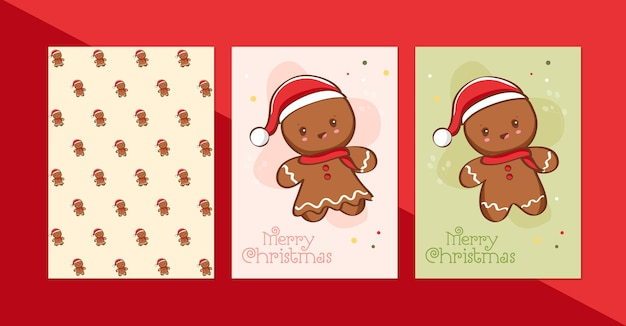 Merry christmas and happy new year with santa claus free vector