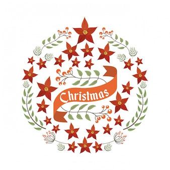 Веселый рождественский праздник декабрь