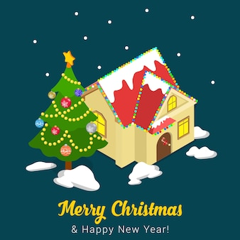 С рождеством христовым иллюстрация