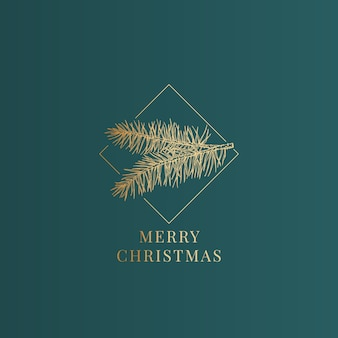 Merry christmas illustration