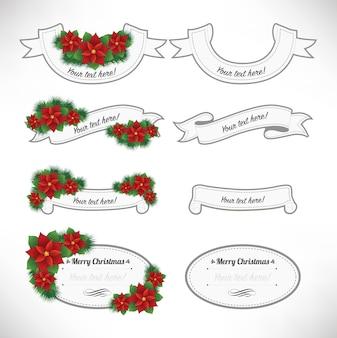 メリークリスマスラベルセット