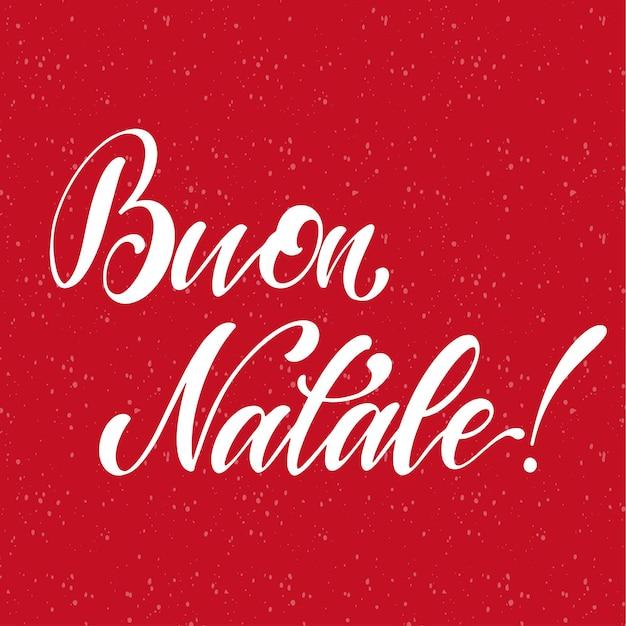 С рождеством христовым надписи на итальянском языке. элементы для приглашений, плакатов, открыток. дизайн футболки. приветствия сезоны.