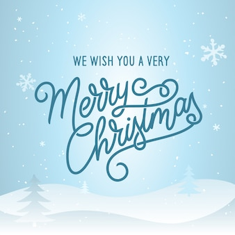 Merry christmas lettering template. greeting card or invitation