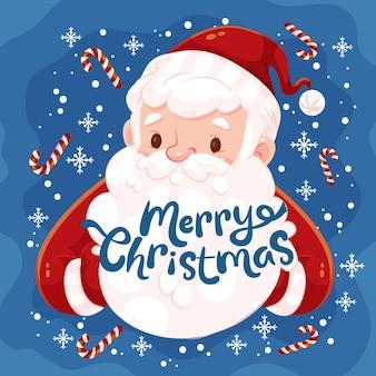 メリークリスマス-レタリング