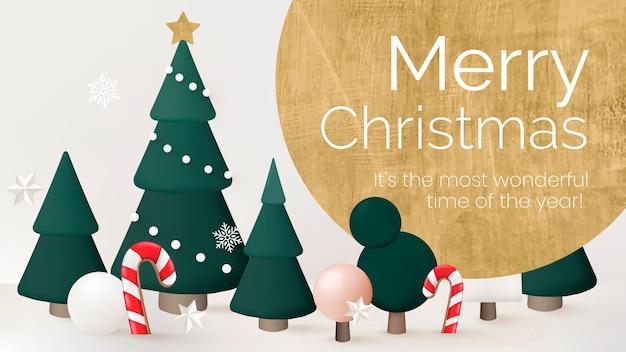 С рождеством христовым шаблон презентации, вектор поздравления сезона