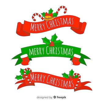 Веселые рождественские ленты