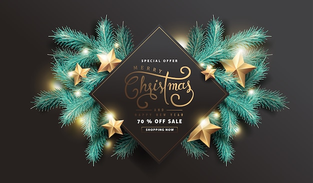 С рождеством христовым распродажа фон