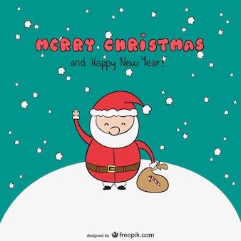 メリークリスマスサンタ漫画