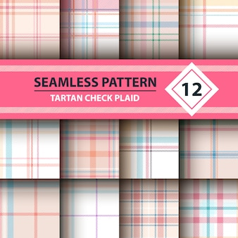 Merry christmas seamless patterns.