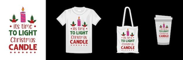 メリークリスマスのtシャツのデザインテンプレート。クリスマスのタイポグラフィデザイン。