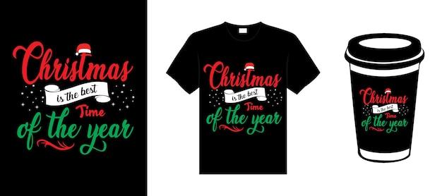 С рождеством христовым типография надписи цитата рождественский дизайн футболки рождественский дизайн товаров