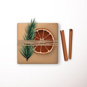 グリーティングカードのメリークリスマスベクトルテンプレート。