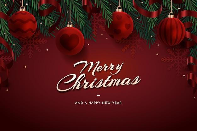 С рождеством христовым дизайн обоев