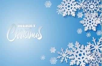 Счастливого Рождества, Зимний фон.
