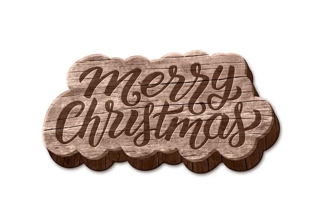 메리 크리스마스 나무 배지