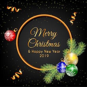 Merry christmas wreath chandelier