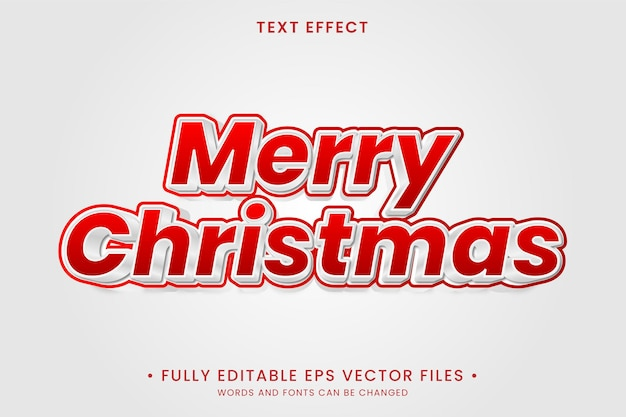 Merry christmash text effect