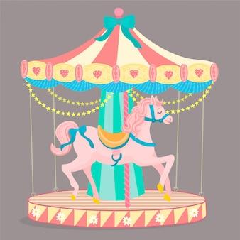 Merrygoround horse ride