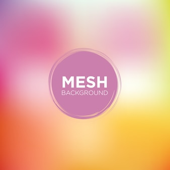 Mesh background in peachy pink tones
