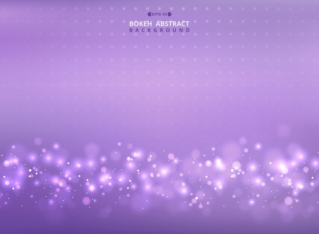 Mesh colorful violet with bokeh pattern background