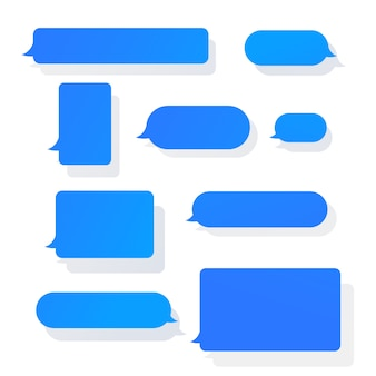 Message bubbles set