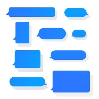 メッセージバブルセット