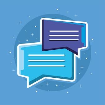 Message speech bubble