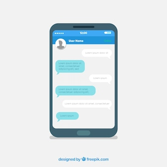 Messenger app to chat on the mobile