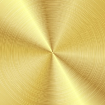 Metal abstract background gold