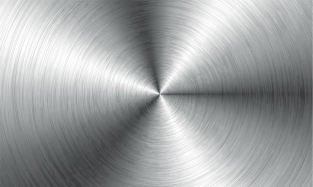 金属の抽象的な技術の背景。磨かれた、つや消しの質感のアルミニウム。