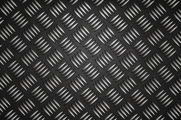 Metal background steel black design