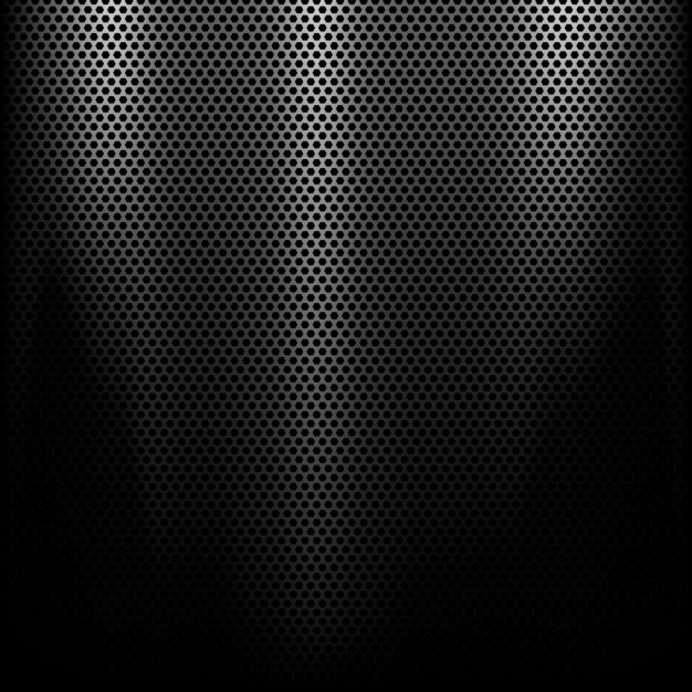 Metal background with a spotlight