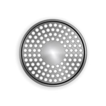 金属ブラシテクスチャオブジェクト分離ラウドスピーカーテクスチャテンプレートオブジェクト