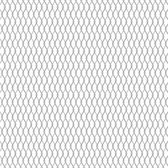 金属チェーンリンクフェンスの背景。ワイヤーフェンスのパターンは白で隔離されます。