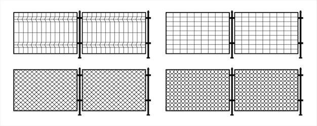 Metal fence. rabitz. grid metal chain-link. braid wire fence. background texture the cage, metal chain link, fence. metal mesh, prison barrier, secured property