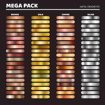 Metal gradients set