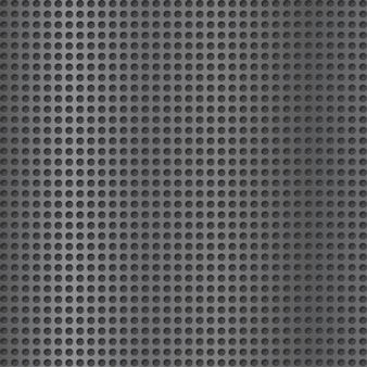 Metal grate background.  grey grid. speaker lattice texture. perforated plate.