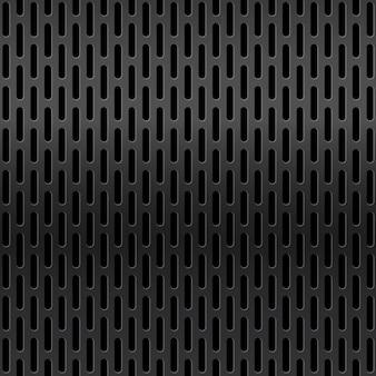 金属グリッド表面。反射のあるメタリックメッシュテクスチャの背景。鉄鋼産業構造のレイアウト。勾配床材。シームレスパターン