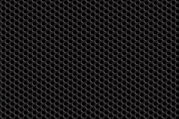 Metal grill seamless pattern