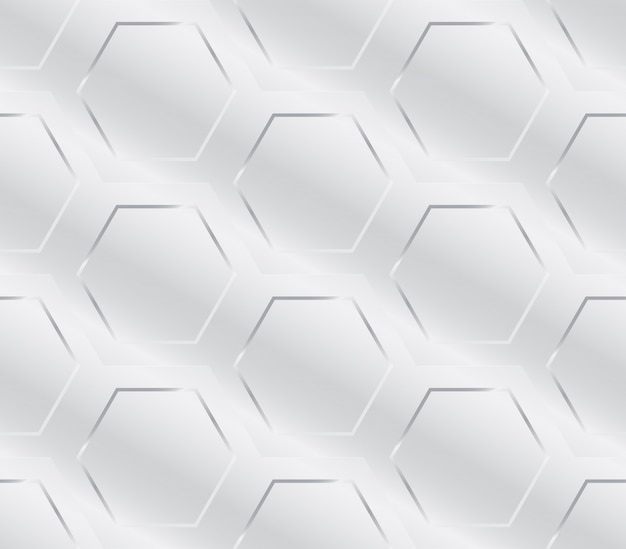 Metal industry geometric pattern seamless