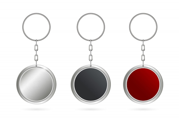 Metal keychains for key chain
