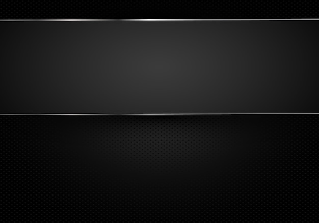 Metal perforated background with cut metal