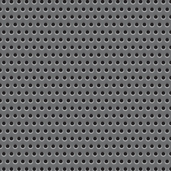 Metal plate grid texture pattern.  illustration